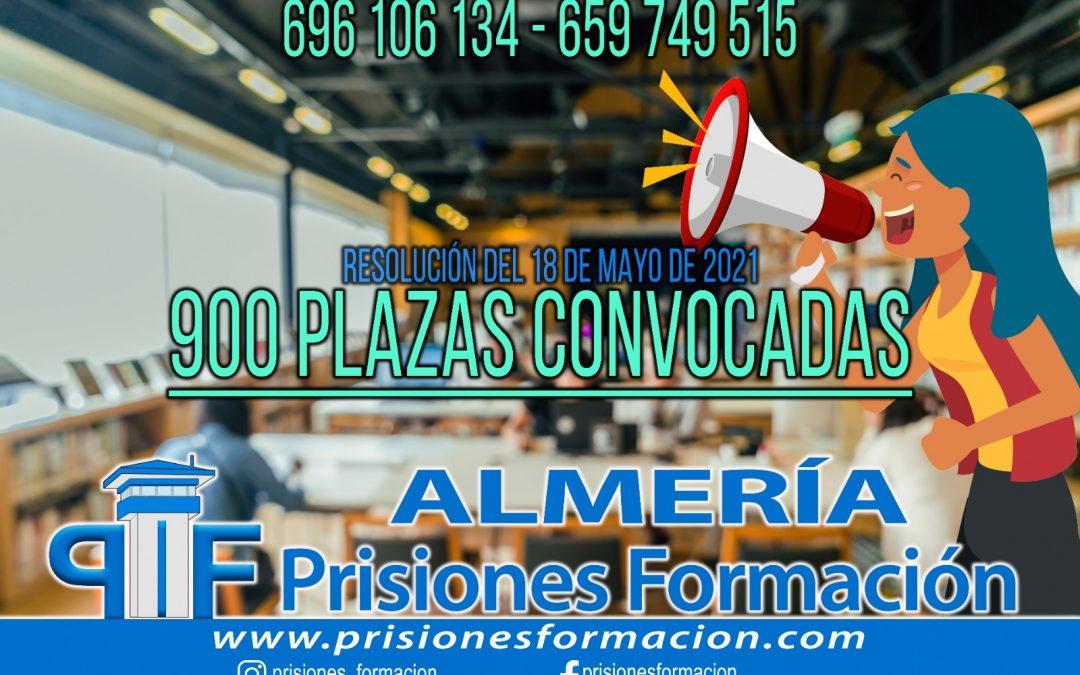 900 plazas ofertadas para el Cuerpo de Ayudantes de Instituciones Penitenciarias
