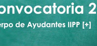 Convocatoria Cuerpo de Ayudantes de Instituciones Penitenciarias: 701 plazas