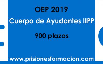 Oposiciones 2019 al Cuerpo de Ayudantes de Instituciones Penitenciarias: exámenes y plantillas correctoras