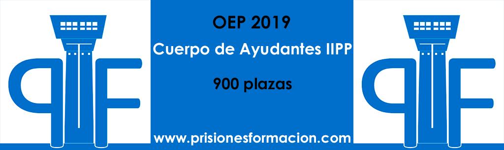 Convocatoria Cuerpo de Ayudantes de Instituciones Penitenciarias: 900 plazas